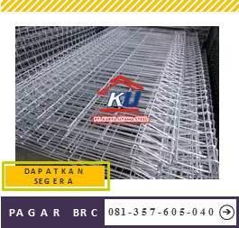 Pagar BRC Surabaya Murah Ready Ukuran Tinggi 90 cm Galvanis